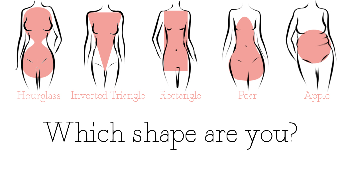 Fashion Friday Finding Your Body Shape Seriously Natural